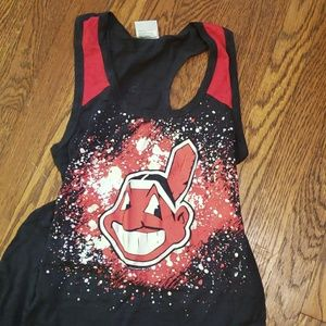 Cleveland Indians tank top chief wahoo